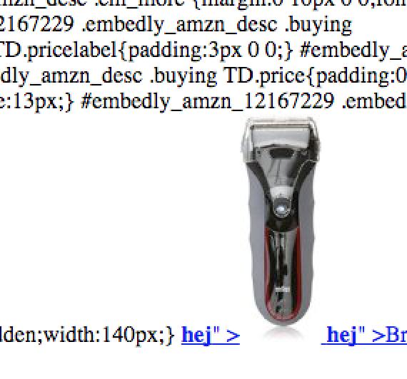 Braun HTML