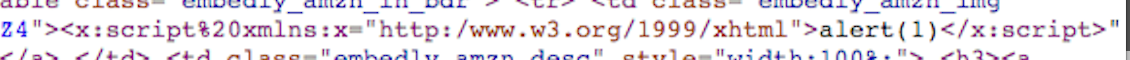 XML-XSS